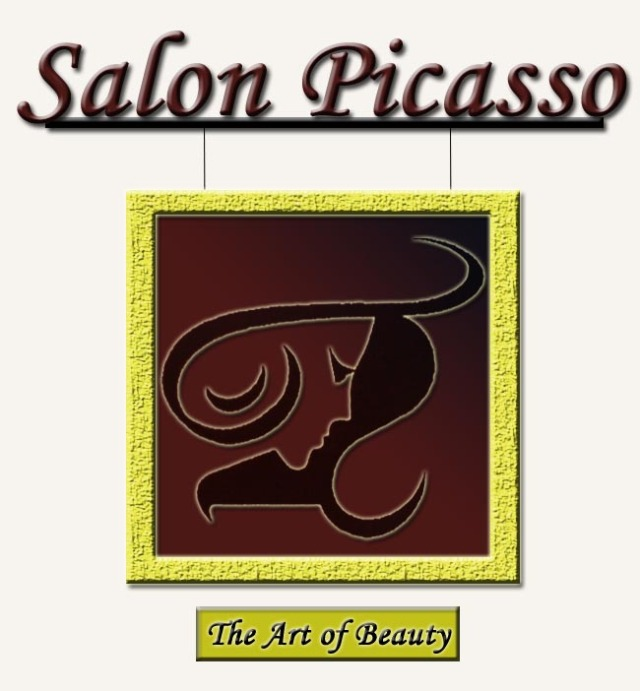 Salon Picasso Framed Logo